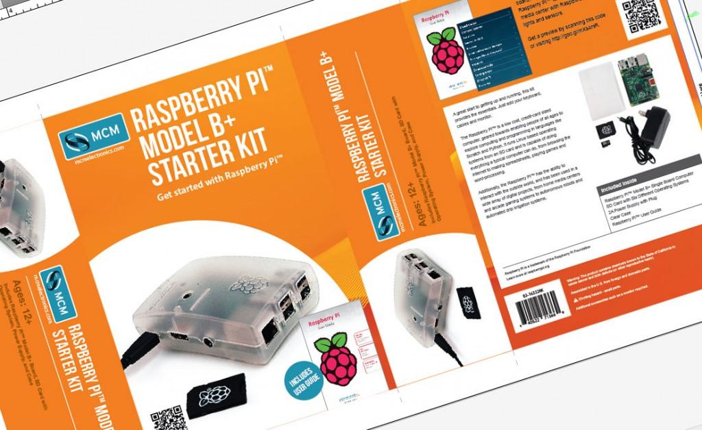MCM Raspberry Pi Model B+ Kits