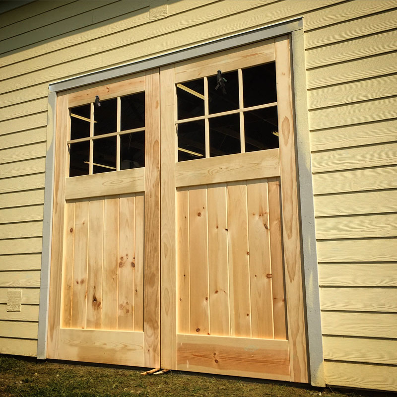 Building Huge Carriage Style Doors Christian Moist