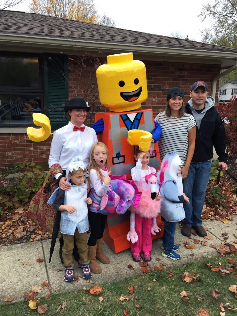 Emmet Lego Costume 3