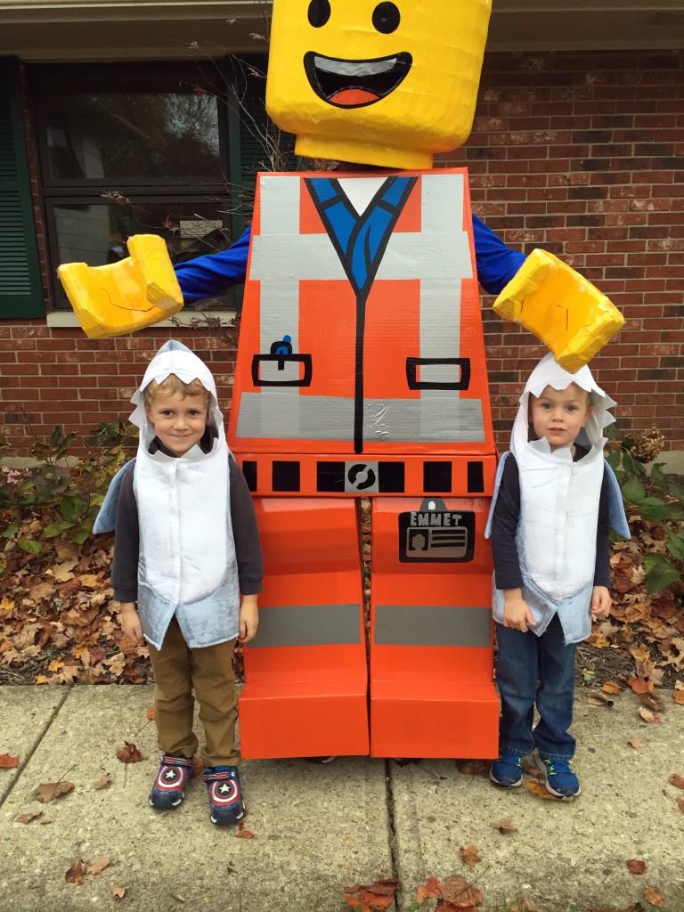 Emmet Lego Costume 4