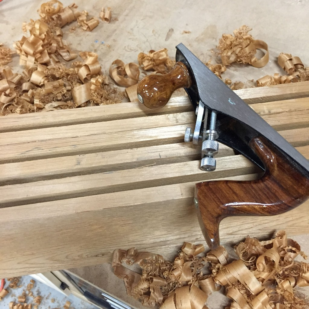 Jointing the rough-cut edges