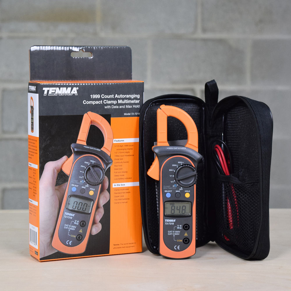 Tenma 72-7218 Compact Digital Clamp Meter