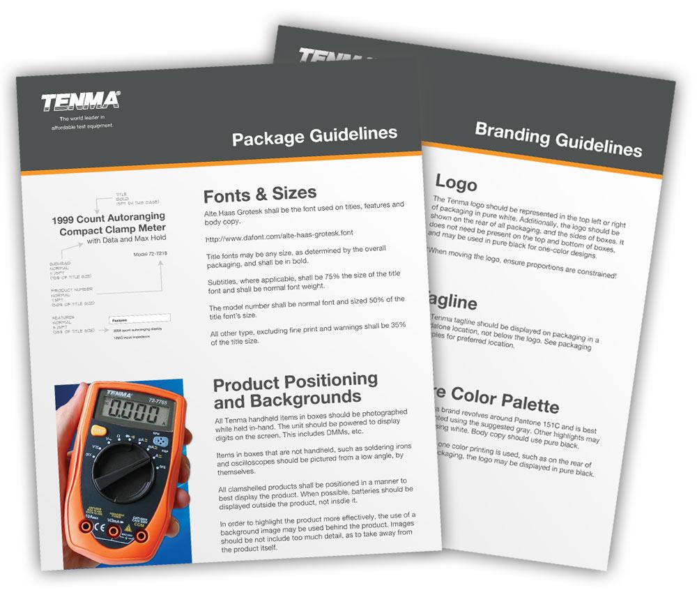 Tenma Branding Guidelines