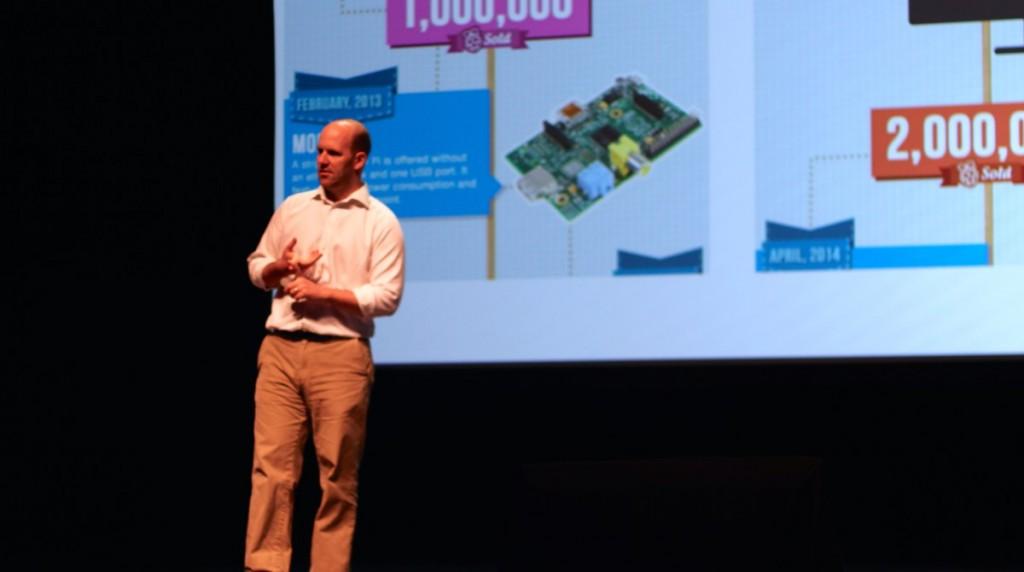 Eben Upton at MakerCon Bay Area 2015