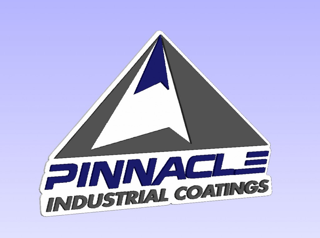 Pinnacle Industrial Coatings Mockup