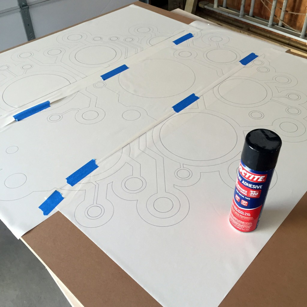Learn to Solder Sign Attaching Template
