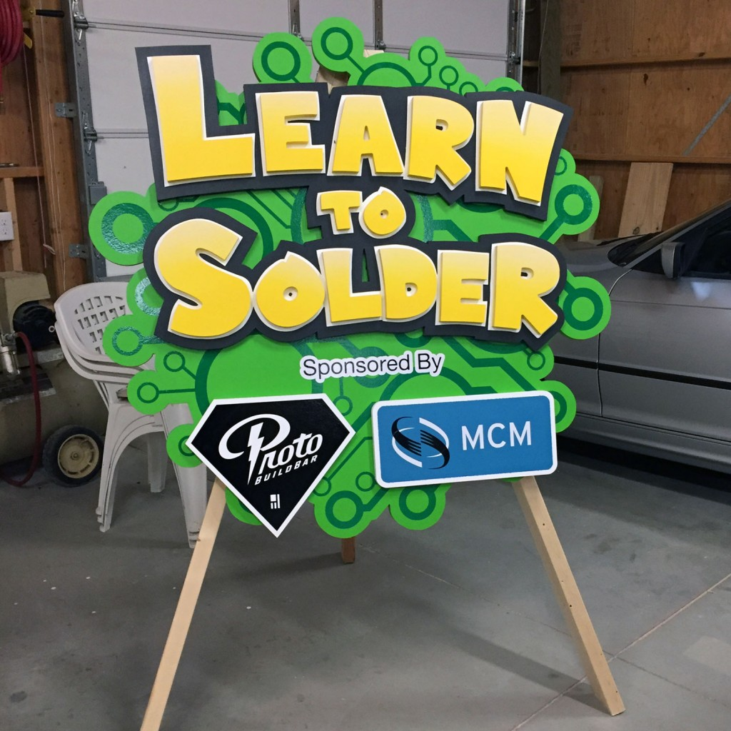 Learn to Solder Final Product