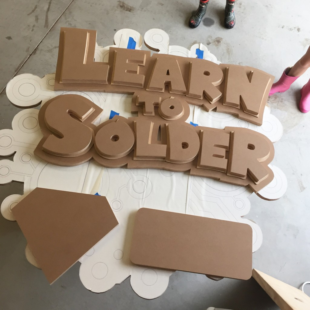 Learn to Solder Mockup