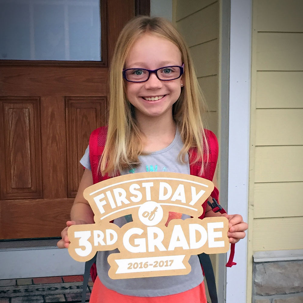 First Day of School Sign