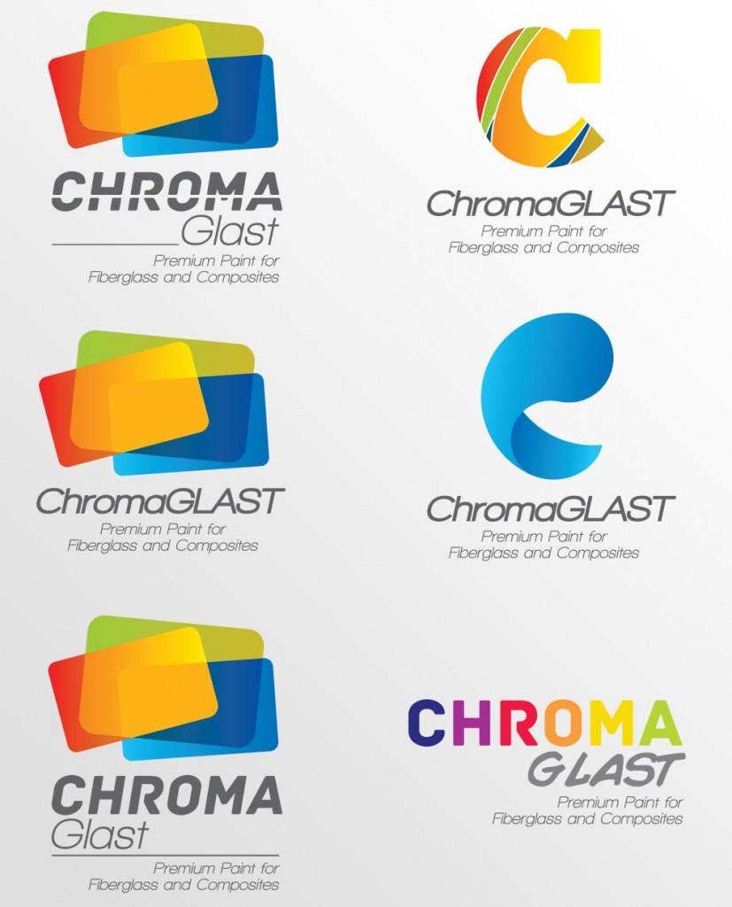 ChromaGlast Logo Proofs