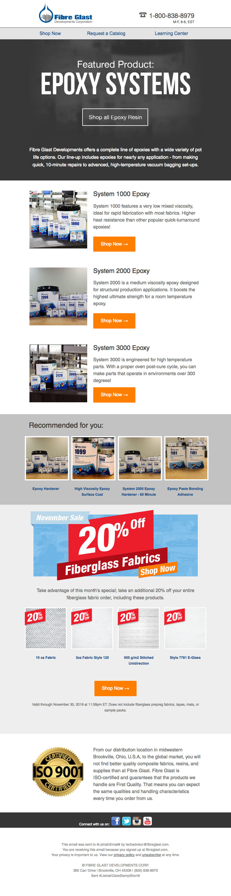 Fibre Glast Email Featured Product Epoxy Systems