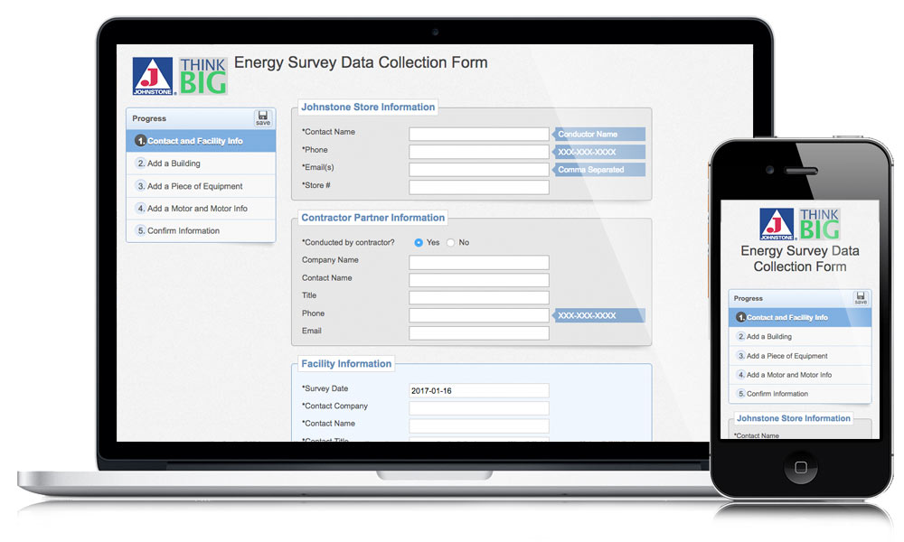 Johnstone Supply Think Big Web App | Christian Moist