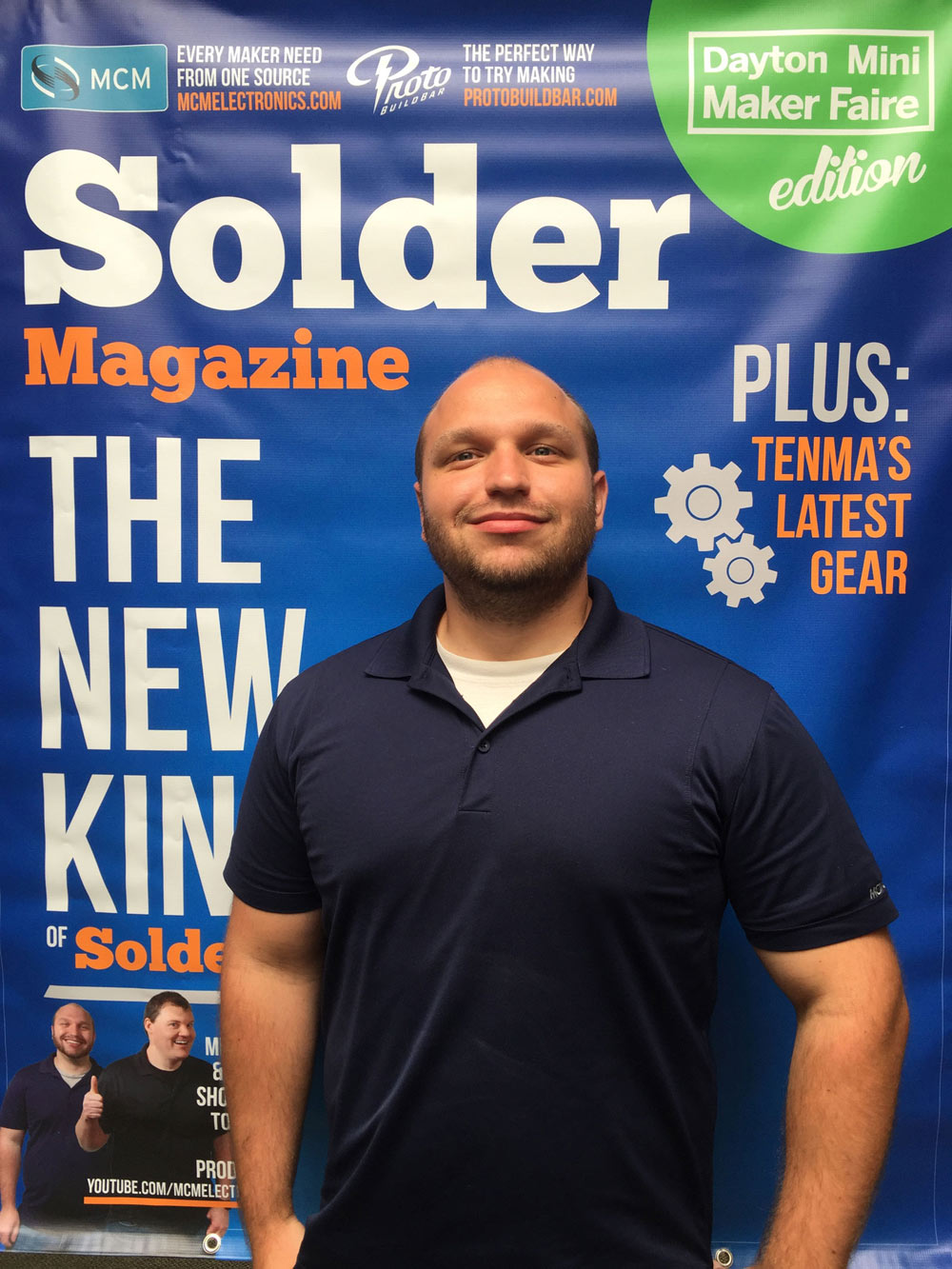 Solder Magazine Cover Photo Opp