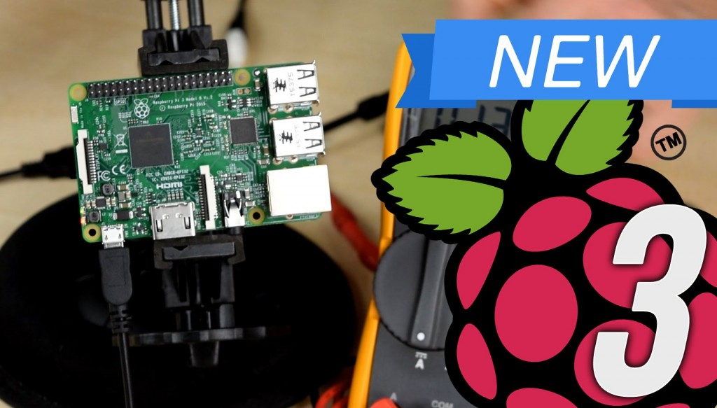Raspberry Pi 3 Launch Video