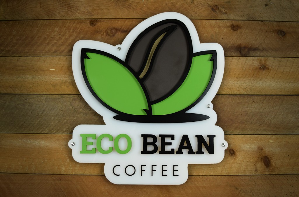 Eco Bean Sign