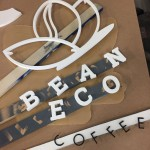 Eco Bean Sign Ready for Paint