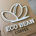 Eco Bean Sign Parts Routed