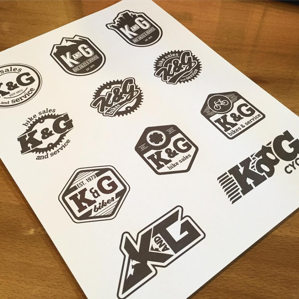 K&G Logo Marks