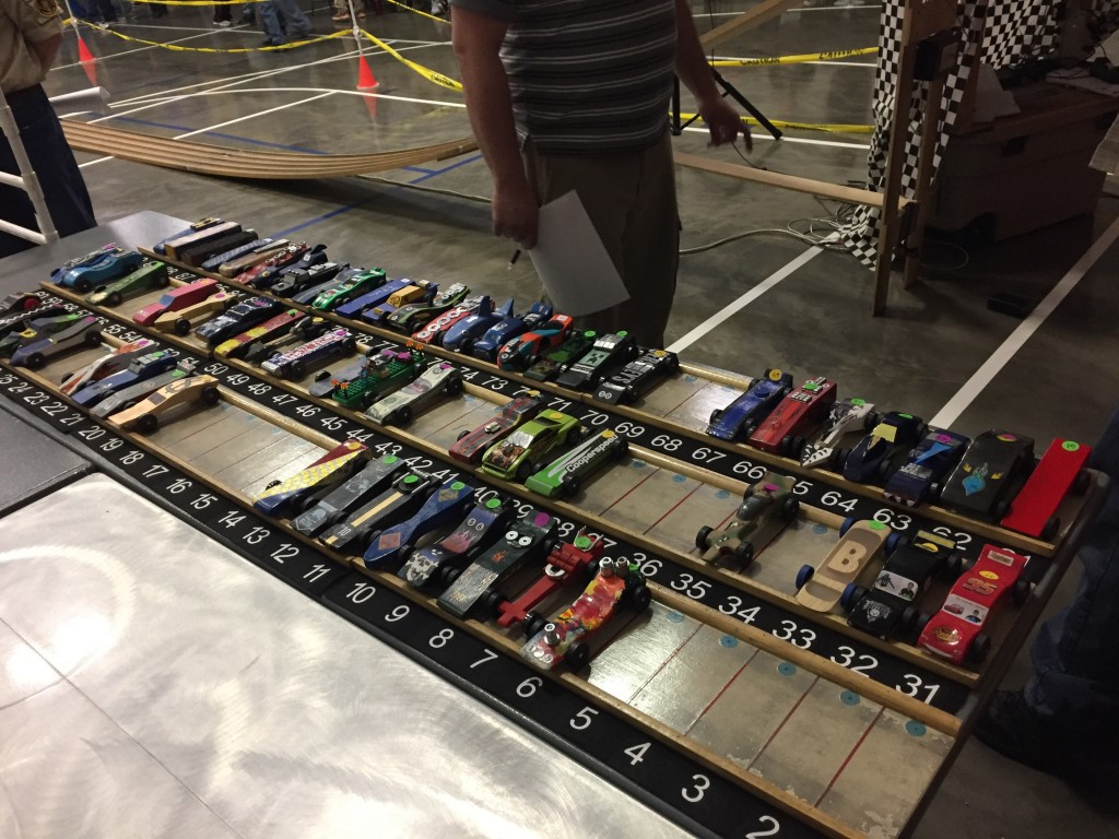 Pack 618 Pinewood Derby Entrants