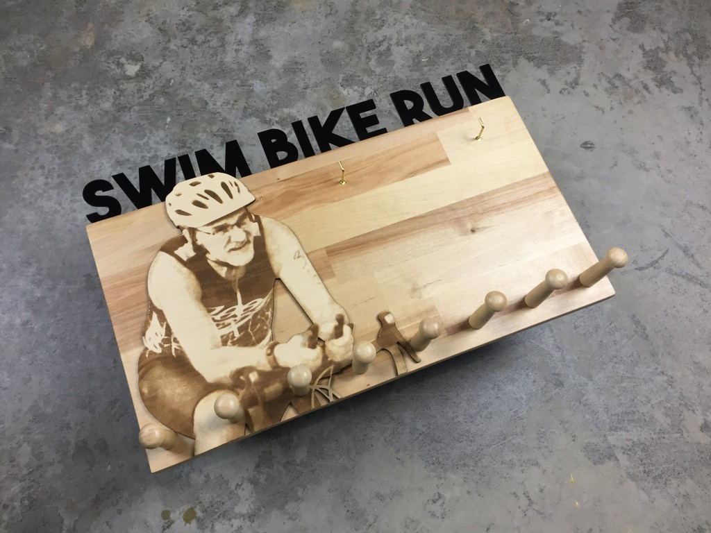 Swim Bike Run Diagonal