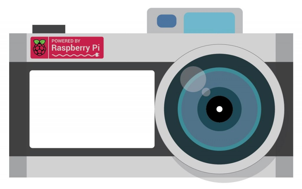 Raspberry Pi Photo Booth Illustration
