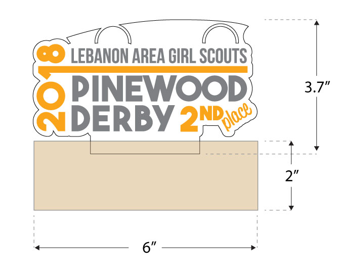 Pinewood Trophy Illustration