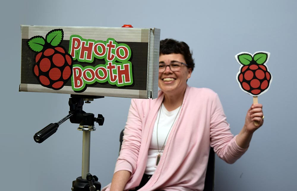 Raspberry Pi Photo Booth In Action