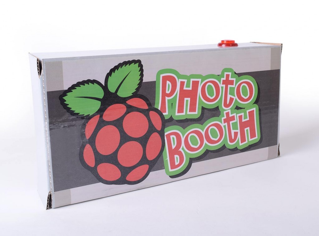 Raspberry Pi Photo Booth Rear