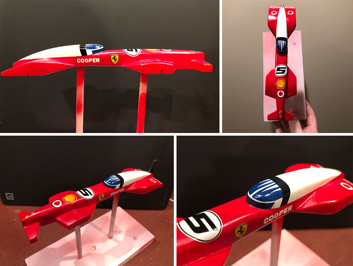 2020-Ferrari-Pinewood-Derby-Car-Painted